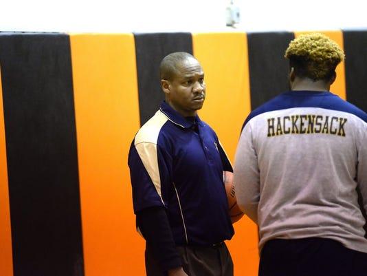 Hackensack coach Aaron Taylor.JPG
