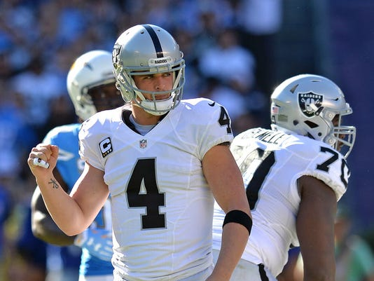 USP NFL: OAKLAND RAIDERS AT SAN DIEGO CHARGERS S FBN USA CA