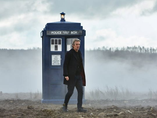 Peter Capaldi as Dr. Who.