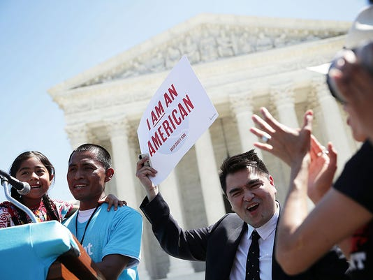 U.S. Supreme Court Hears Challenge To Obama Immigration Programs