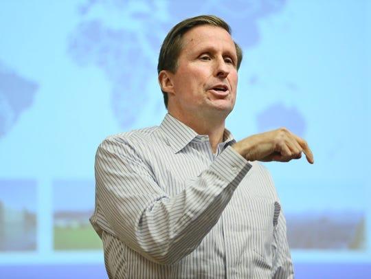 Tom Werner, CEO of SunPower, recently returned to speak