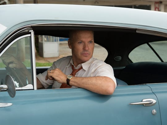 """Michael Keaton is Ray Kroc, the man who gave the world the Big Mac, in """"The Founder."""""""