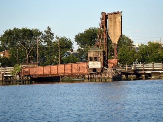 Overpeck Creek bridge