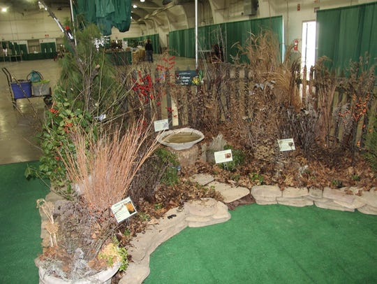 At the garden show, attendees can learn how to set