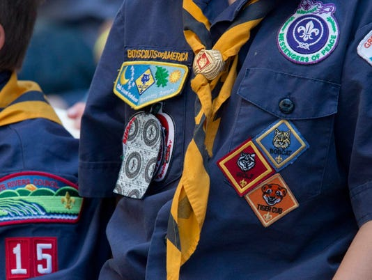 AP TRANSGENDER BOY SCOUTS A FILE USA NY