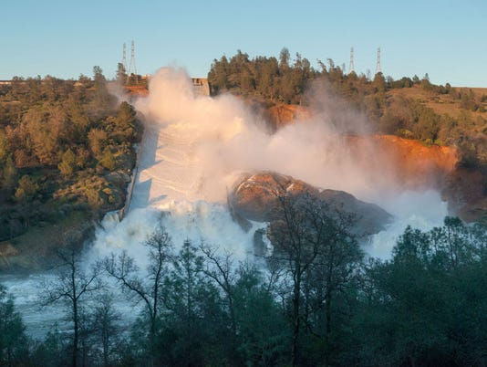 Thousands Evacuated Near Oroville Dam As Spillway Threatens To Fail