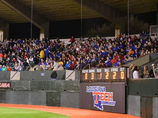 Louisiana Tech has won 14 straight home games, the