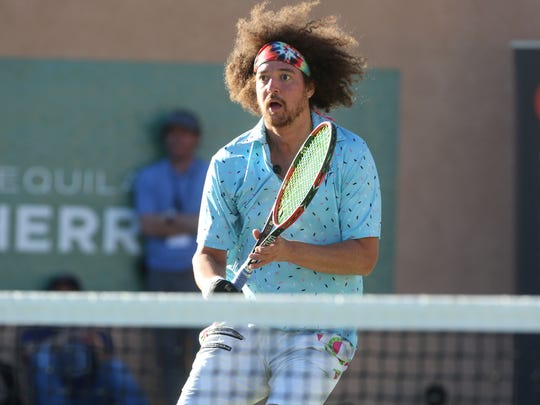 Redfoo at the 2017 Desert Smash charity celebrity tennis event at Westin Mission Hills Golf Resort and Spa on March 7, 2017.