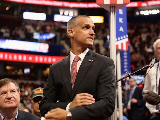 Corey Lewandowski, former campaign manager for Donald