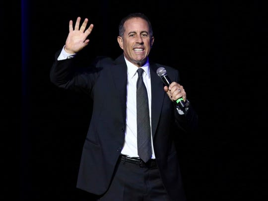 Jerry Seinfeld will return to the Riverside Theater Jan. 24 for two shows.