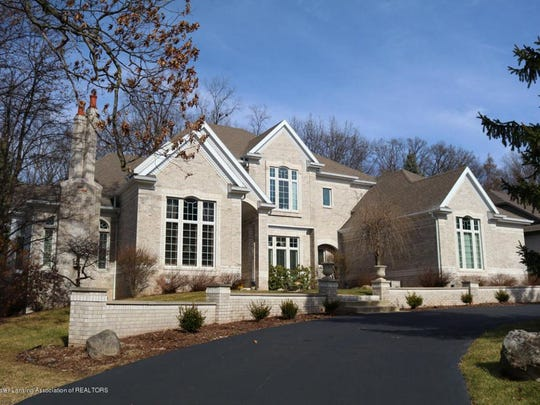 This Lansing-area home has five bedroms and seven bathrooms in 6,520 well-appointed square feet.