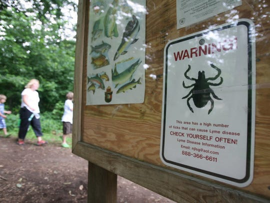 New Jersey has already seen Lyme disease cases skyrocket