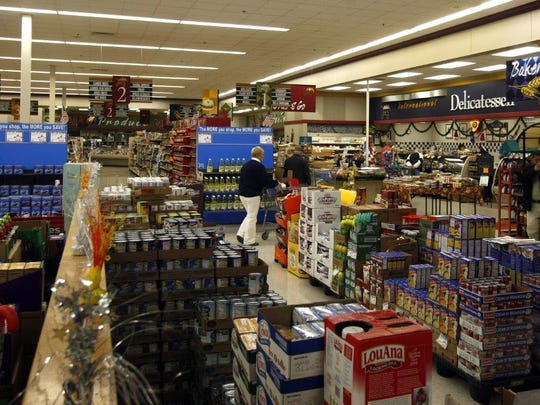 The inside of the commissary at Fort Monmouth in 2010,