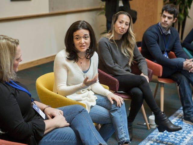 Facebook's Sheryl Sandberg on the hot seat over Cambridge Analytica