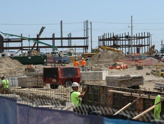 Atlantic City construction