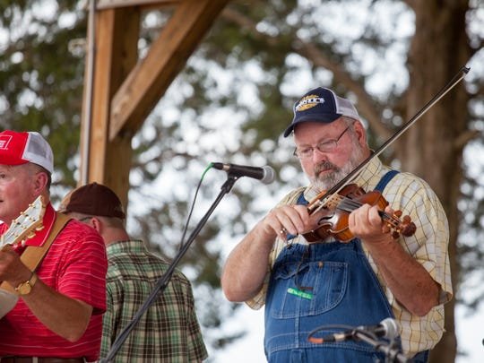 A variety of music is a central theme that runs through Dover's four-day Eagle Fest.