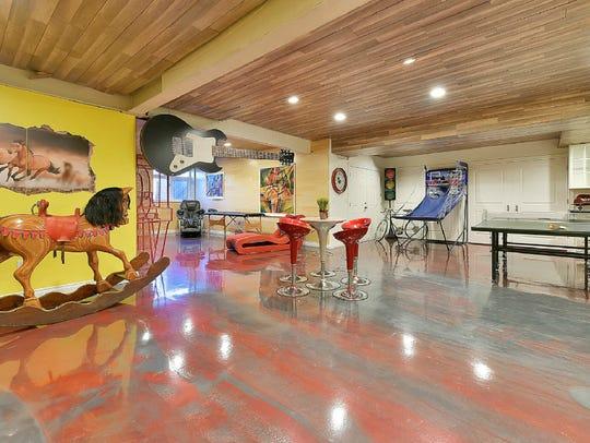 The 18,000-square-foot Cresskill estate includes a