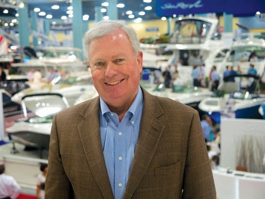 Thom Dammrich, president of the National Marine Marketers