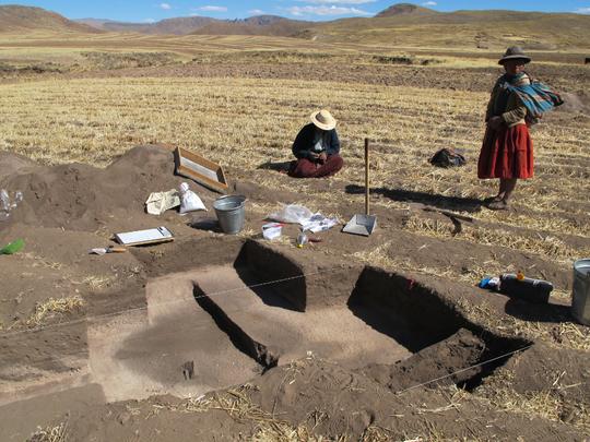 Excavations around Soro Mik'aya Patjxa revealed more