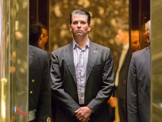 Donald Trump Jr. at Trump Tower in New York City on