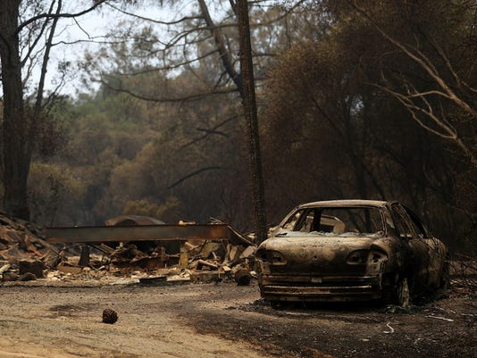 Detwiler Fire Spreading Rapidly Threatens Historic Town Mariposa