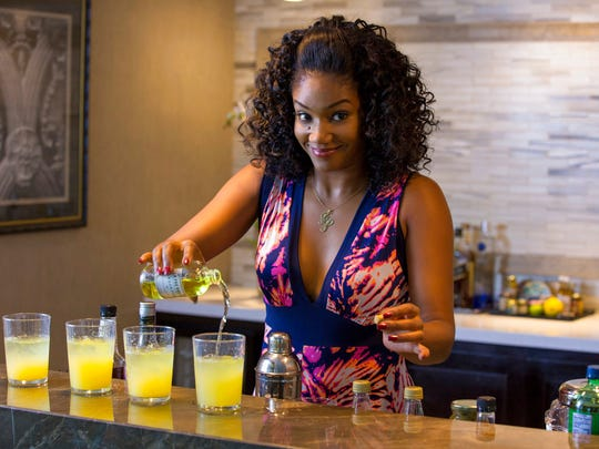 """Tiffany Haddish in a scene from the comedy """"Girls Trip."""" The movie opens Thursday at Regal West Manchester Stadium 13, Frank Theatres Queensgate Stadium 13 and R/C Hanover Movies."""