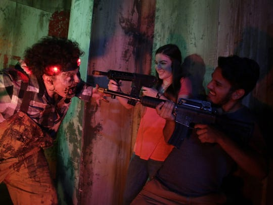 Apocalypse World Tour brings its zombie laser tag game to Tallahassee Sept. 1 and 2.