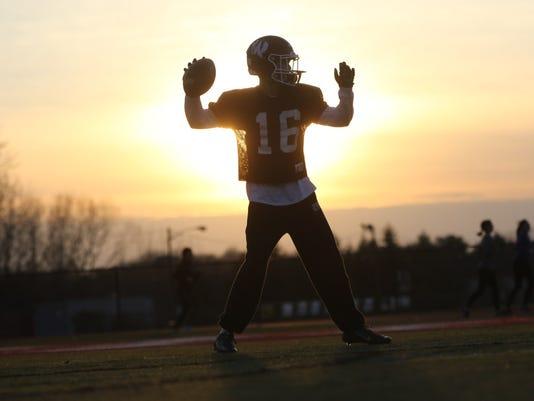 Wayne Hills football practice