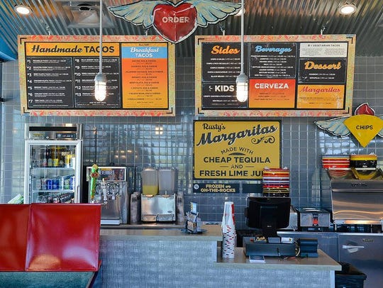Rusty Taco in West Des Moines serves street-style tacos.