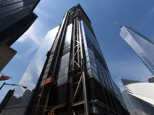 This is Three World Trade Center at 400 Church St.