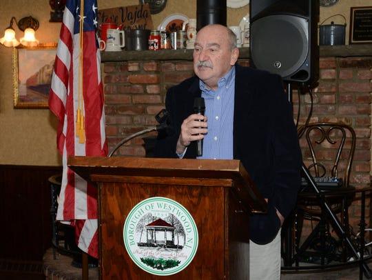 Washington Township Councilman Thomas Sears, shown