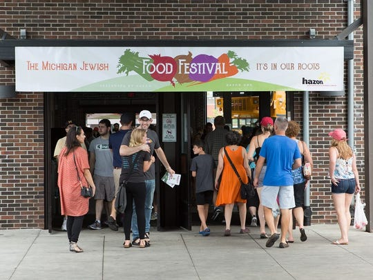 The Jewish Food Festival drew more than 5000 attendees