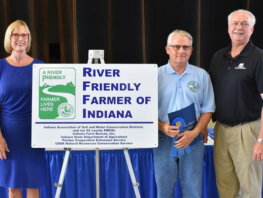 River Friendly Farmer Larry Shreve