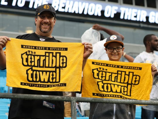 These Pittsburgh Steelers fan good luck charms are