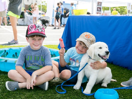 More than 1,000 dog lovers and their animals are expected