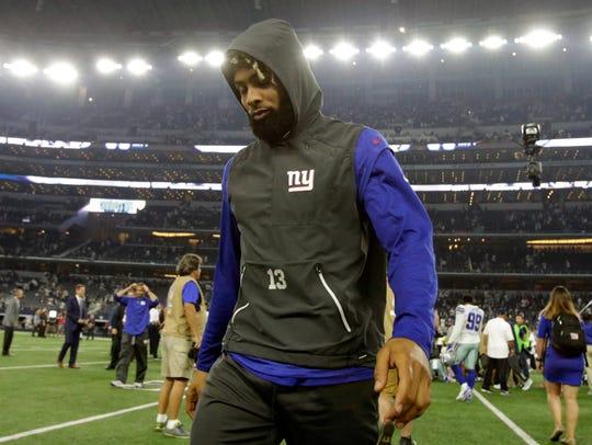 New York Giants wide receiver Odell Beckham Jr. (13)