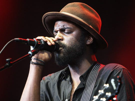 Gary Clark Jr. performs at the Riverside Theater on