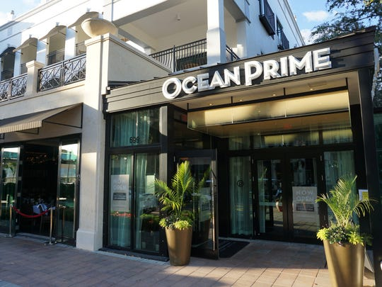 Ocean Prime is located on Fifth Ave. South in Naples.