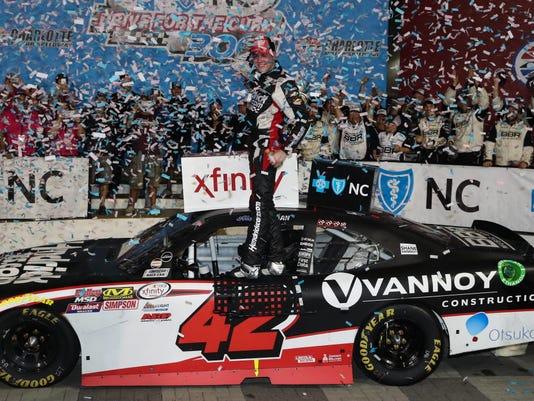 USP NASCAR: DRIVE FOR THE CURE 300 S NAS USA NC