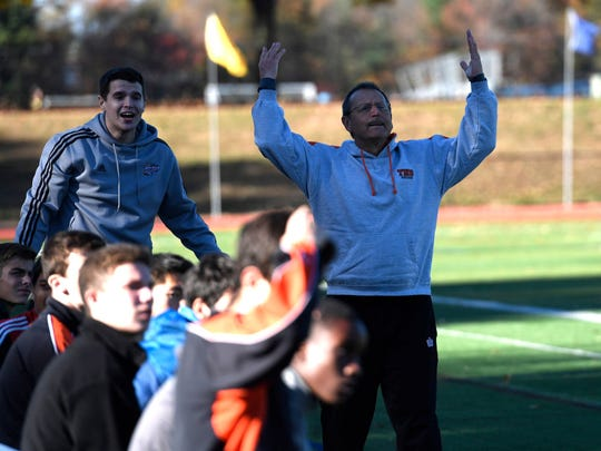 Tenafly coach Bill Jaeger has won over 300 games in his coaching career.