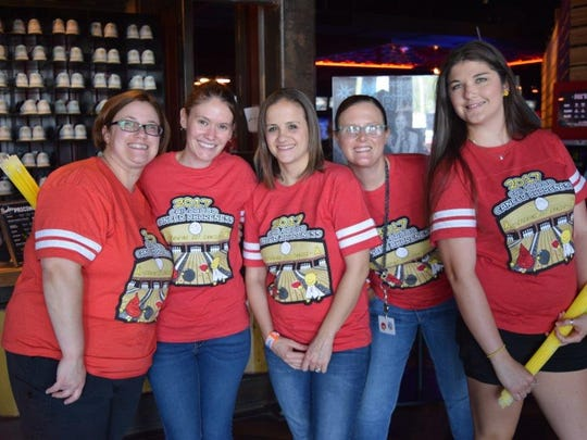 Crystal De Los Santos, RN (from left), Alyson Paris, RN, Jennifer Gonzalez, RN, Kendra Johnston-Garcia, RN, and Lauren Rios, RN