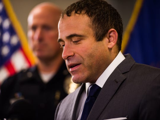 Burlington Police Chief Brandon del Pozo gives details