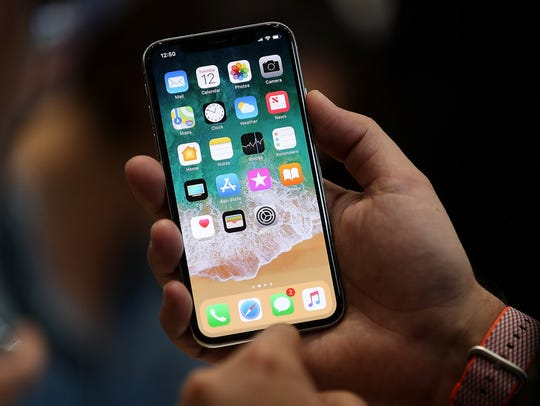 The iPhone X lacks a home button.