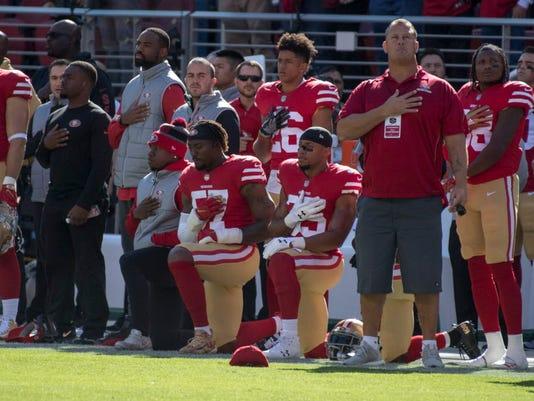 USP NFL: ARIZONA CARDINALS AT SAN FRANCISCO 49ERS S FBN SF ARI USA CA