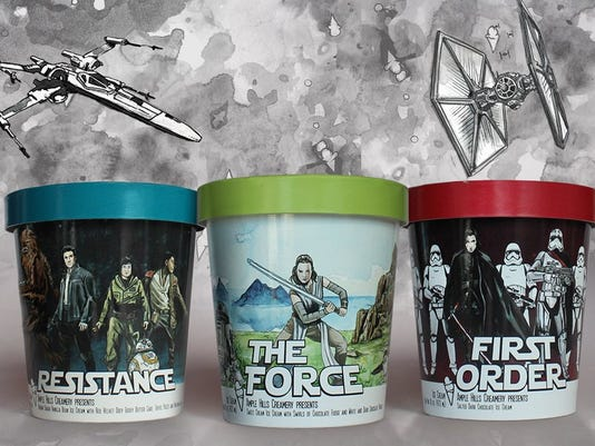 Ample Hills' new batch of Star Wars ice cream
