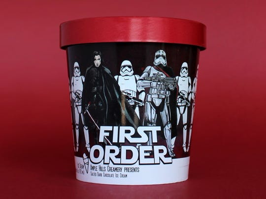 Star Wars: The Last Jedi (in theaters December 15th), Brooklyn ice cream maker Ample Hills Creamery has announced the launch of three limited-edition flavors in collaboration with Disney and Lucasfilm.