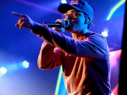 Rapper Logic is known for socially conscious and politically outspoken material. He'll co-headline Summerfest's amphitheater Friday with Halsey.