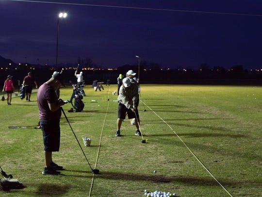 Underwood Golf Complex will host a Night Golf Scramble