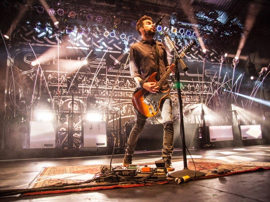 Chevelle performs at the Rave Saturday.