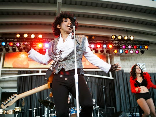 The Prince Experience performs Saturday at the Riverside Theater.